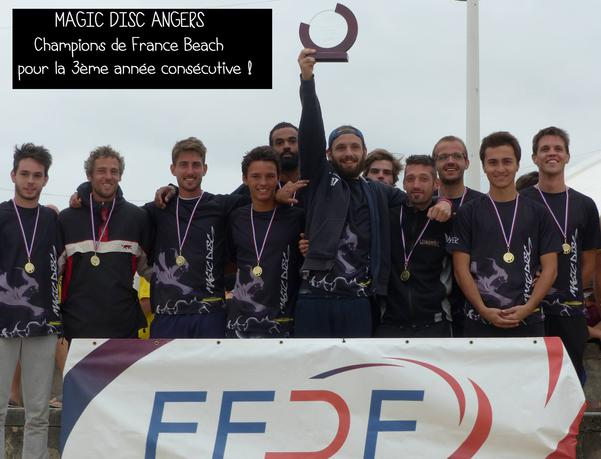 MAGIC DISC ANGERS Champion de France 2017